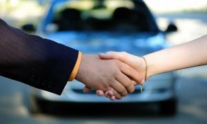Conclure la vente d'un véhicule
